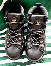 HERMAN SURVIVORS STEELTOE WORK BOOTS (Panther) Size 8 1/2