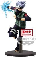Banpresto 39857 NARUTO Shippuden Hatake Kakashi Figurine, Multi-Coloured