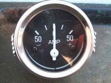 New 50 Amp Ammeter , Universal Fit ; Free Shipping !!