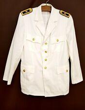 Marine Sakko weiß Bw Uniform Kapitän Marine Dienstanzug Bundeswehr Jacke weiß