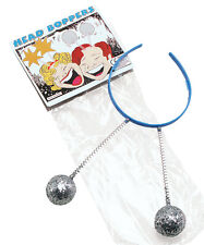 HEAD BOPPERS WITH SILVER BALLS ADULT FANCY DRESS ACCESSORY FUN STAG HEN PARTY
