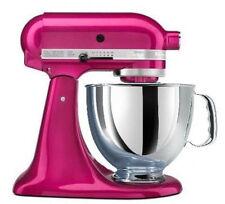 KitchenAid Stand Mixer tilt 5-Qt Rrk150ri Metal Artisan Tilt Raspberry ice