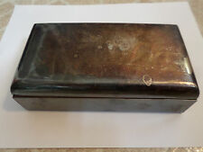 Vintage WM Rogers 420 Silverplate Cigarette Smoke Match Box