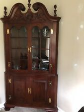 Henkel Harris Corner Cherry Hutch