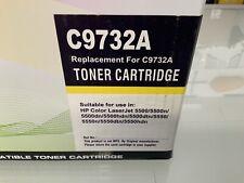 HP C9732A Yellow Toner NEW, HP Color Laserjet 5500/5500n/5500dn/5500hdn/5500dtn+