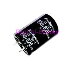 1X820uF 250V Electrolytic radial Capacitor DIP NEW 1pcs free shipping