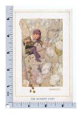 Tarrant Fairy Postcard - Honesty Plant - Medici Soc - The Fairies in Our Garden