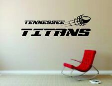 Wall Mural Vinyl Decal Sticker Decor NFL Football Rugby LogoTennessee Titans