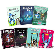 Regular Show: Cartoon Network TV Series Complete Volumes 1-7 Box/DVD Set(s) NEW!
