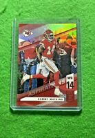 SAMMY WATKINS PRIZM ASPIRATIONS RED SP#/86 CHIEFS 2019 DONRUSS ELITE FOOTBALL SP