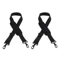 2pcs Repalcement Shoulder Strap Belt for Violin Saxophone Guitar Case Bag