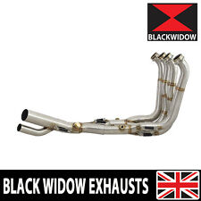 BMW S1000XR Performance De Cat Exhaust Collector Downpipes Headers 2015 - 2019
