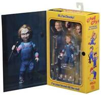 """NECA 4"""" Ultimate Child Play Good Guys Chucky Doll Action Figure New Toy Gift"""