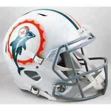 MIAMI DOLPHINS 1972 Edition NFL Riddell SPEED Full Size Replica Football Helmet