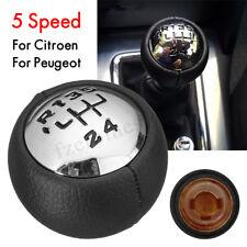 5 Velocidades Pomo Palanca Cambios For Peugeot 307 308 3008 407 Citroen