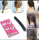 Women French Hair Braiding Tool Hook Hair Twist Bun Maker Styling Rol