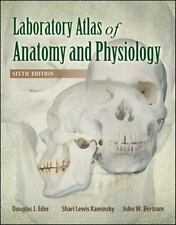 LABORATORY ATLAS OF ANATOMY & PHYSIOLOGY By Douglas J. Eder Dr. **Excellent**