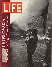 LIFE Aug 30,1968 Mob Murder, Czechoslovakia, Dior, St. Laurent, Lanvin, Cardin