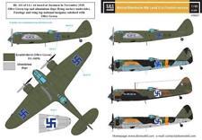 S.B.S modèles, 1:48, D48007, Bristol Blenheim Mk. I-II. en Finnois Service WW II