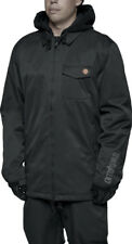 ThirtyTwo MERCHANT Mens Hooded Snowboard Jacket Large Black NEW