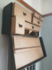 Vintage Doctor's Bag / Case with Drawers Upcycle shelf unit