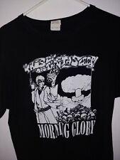 Morning Glory Shirt (Rare) This Is No Time Ta Sleep, Choking Victim, Leftover...