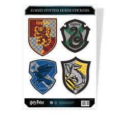 Harry Potter Wappen Crest Hogwarts Dorm 4 Sticker Sheet Stickers Aufkleber