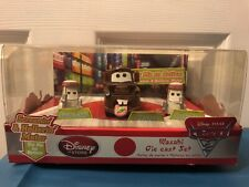 New! Disney Pixar Cars 2 Screamin Hollerin Mater Wasabi Die Cast Vehicle Toy Set