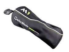 NEW 2017 TaylorMade M1 Black/White/Lime Green Leather Fairway Headcover