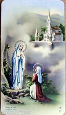 1900s santino Madonna VERGINE SANTA MARIA dell'Abate PERREYVE-FB 303