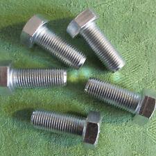 """2 Zollschrauben Sechskant EDELSTAHL 1//4/""""-28X2 1//2/"""" UNF Schraube stainless steel"""