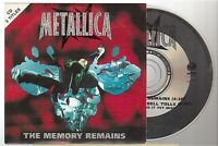 METALLICA the memory remains CD SINGLE france french card sleeve