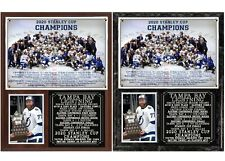 Tampa Bay Lightning 2020 Stanley Cup Champions Photo Plaque
