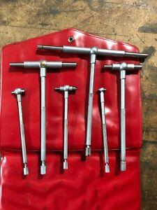 Mitutoyo 155-903 Telescoping Gauge Set 1/2-6in