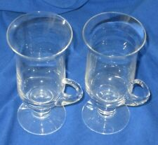 Two Vintage Dartington Irish Coffee Glasses Frank Thrower