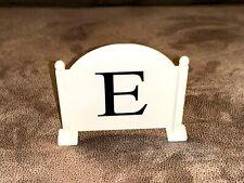 Battat Equestrian Horse Show Dressage Letter E Replacement Part Piece