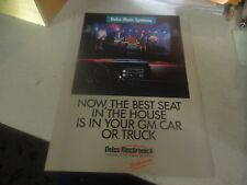Vintage Delco Music Systems The Best Seat in the House in your Gm Car or Truck!