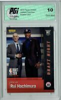 Rui Hachimura 2019 Panini Instant #DN-RH 1 of 4,117 Made Rookie Card PGI 10