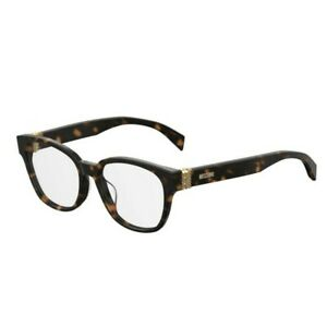 NEW MOSCHINO Eyeglasses Size 53mm 145mm 17mm New With Case