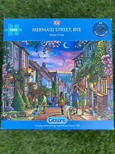 Gibson Mermaid Street, Rye Jigsaw 1000 Pieces (G6282)