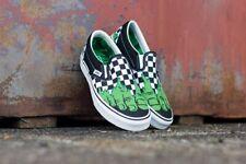 Vans x Marvel Incredible Hulk Checkerboard Mens Classic Slip On Shoes Sz 9 - NEW