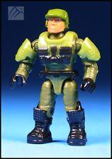 HALO MEGA BLOKS UNSC GREEN DETACHABLE ARMOR SYSTEM MARINE MINI FIGURE SET 97521