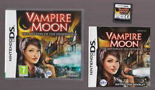 Vampire Moon: The Mystery of the Hidden Sun (Nintendo DS with Booklet manual)