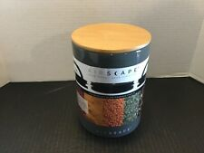 Airscape ceramic food or coffee container 64 fl.oz (1.gl) Gray
