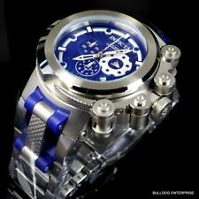 Invicta Coalition Forces Trigger 52mm Swiss Mv Stainless Steel Bracelet Blue New