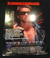 The Terminator (1984) original movie poster near mint - unused - rolled (P1)