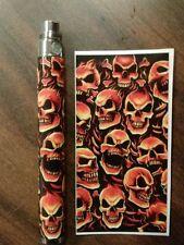 Battery Skins eGo/Vision/ItasteClk/Other Cover Vinyl Vape Wraps e-cig -Skulls #0