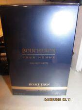 BOUCHERON EAU DE TOILETTE SPRAY POUR HOMME 3.4 FL OZ. 100 ML. (NEW NEVER OPENED)