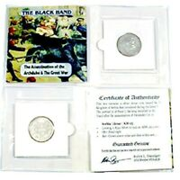Black Hand, Assassination of The Archduke & The Great War Silver Coin,Mini Album