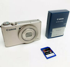 Canon PowerShot S110 12MP Digital Camera with 3-Inch LCD (Silver) Mint Condition